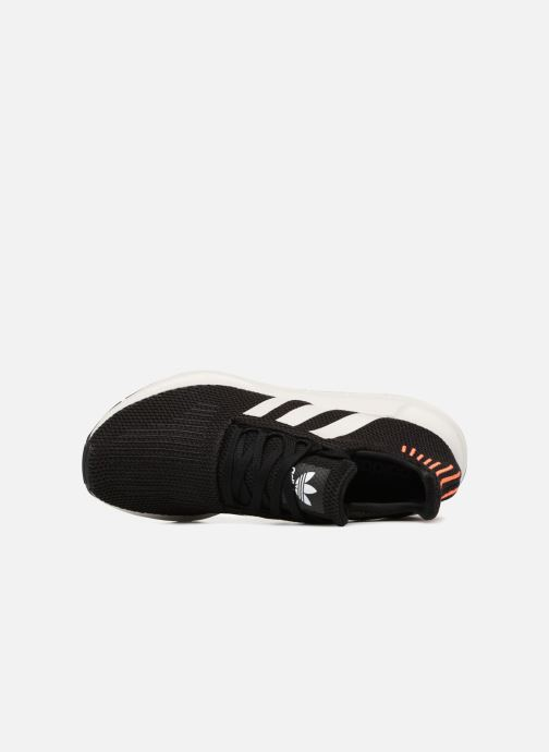 Trainers adidas originals Swift Run Black view from the left