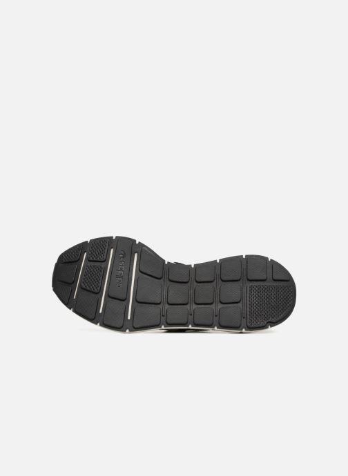 Sneaker adidas originals Swift Run schwarz ansicht von oben