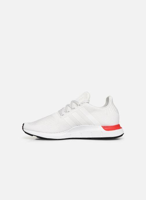 Sneaker adidas originals Swift Run weiß ansicht von vorne