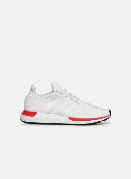 Baskets adidas originals Swift Run Blanc vue derrière