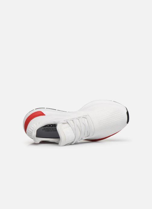 Sneaker adidas originals Swift Run weiß ansicht von links