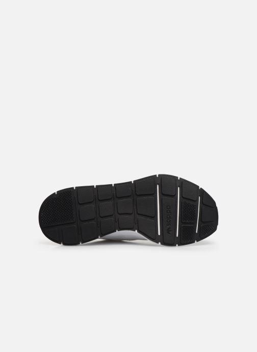 Baskets adidas originals Swift Run Blanc vue haut