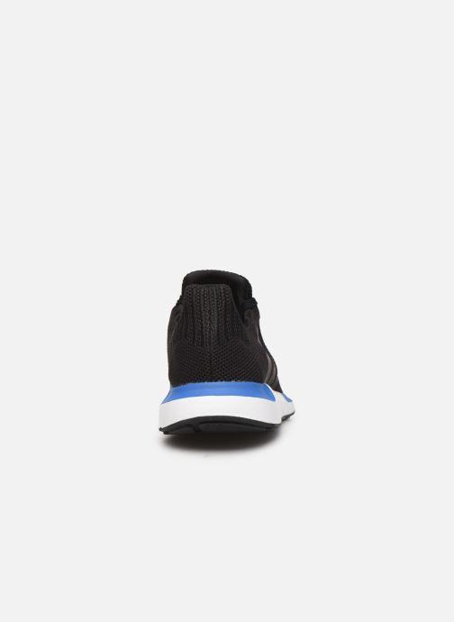 Deportivas adidas originals Swift Run Negro vista lateral derecha