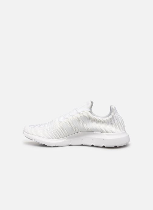 Baskets adidas originals Swift Run Blanc vue face