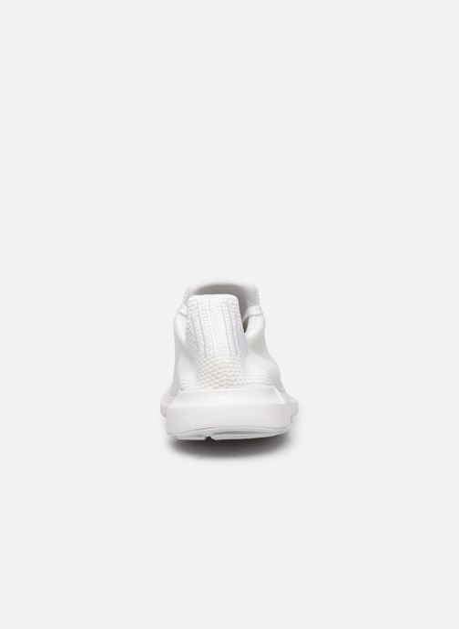 Baskets adidas originals Swift Run Blanc vue droite