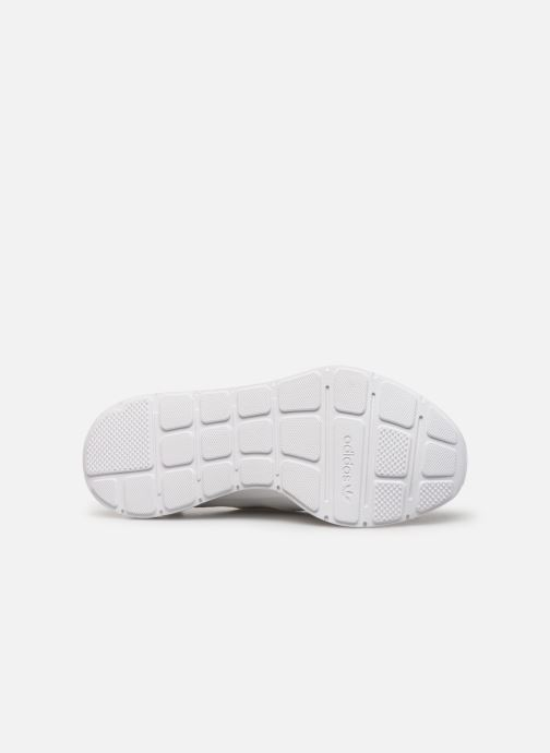 Baskets adidas originals Swift Run Blanc vue haut