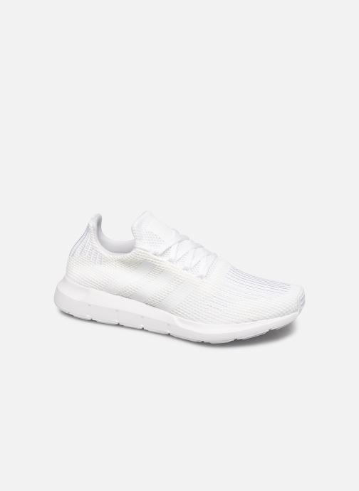Baskets adidas originals Swift Run Blanc vue détail/paire