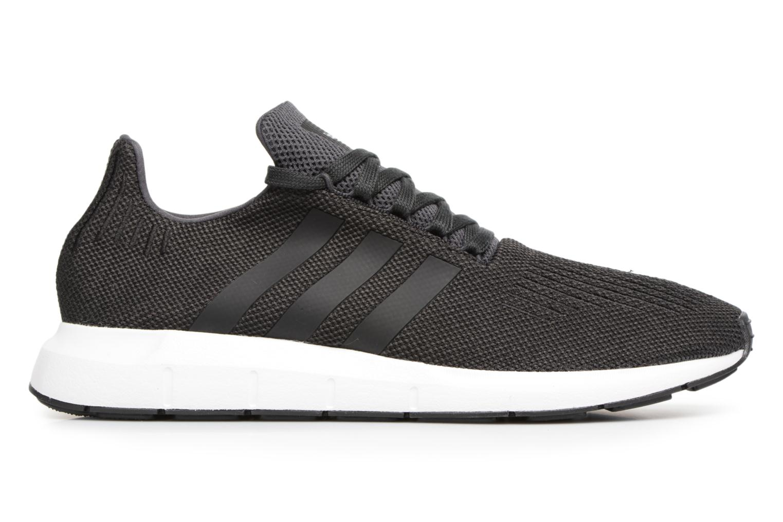 Trainers Adidas Originals Swift Run Black back view