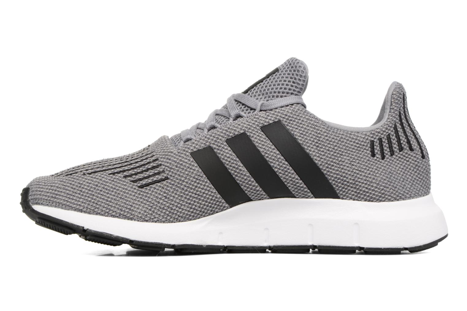 Baskets Adidas Originals Swift Run Gris vue face