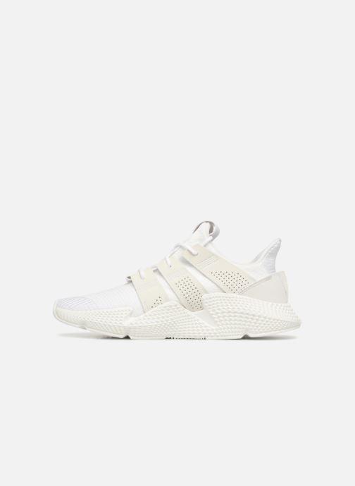 Sneaker Adidas Originals Prophere weiß ansicht von vorne