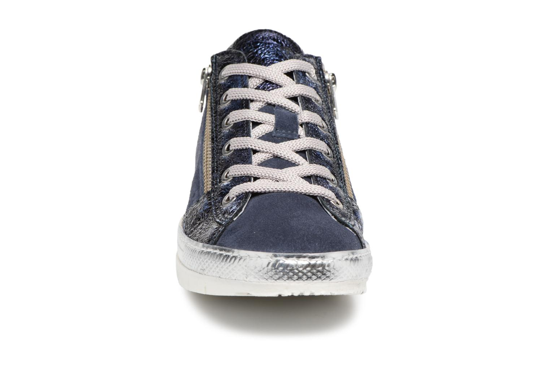 Baskets Khrio Casiova / saio prussia Bleu vue portées chaussures