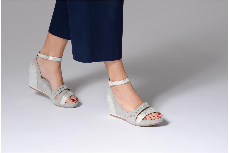 Sandales et nu-pieds Khrio Sokemo / saio perla Gris vue bas / vue portée sac