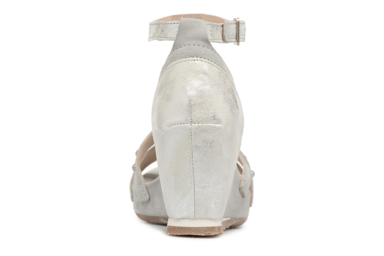 Sandales et nu-pieds Khrio Sokemo / saio perla Gris vue droite