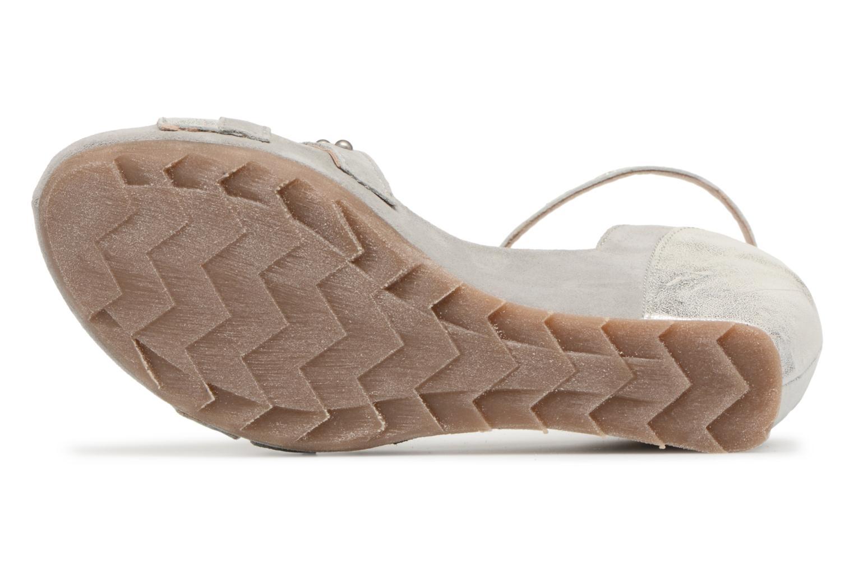Sandales et nu-pieds Khrio Sokemo / saio perla Gris vue haut