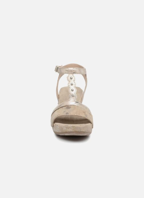 Sandales et nu-pieds Khrio Suasa parker perla Beige vue portées chaussures