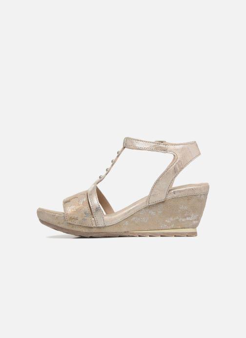 Sandales et nu-pieds Khrio Suasa parker perla Beige vue face
