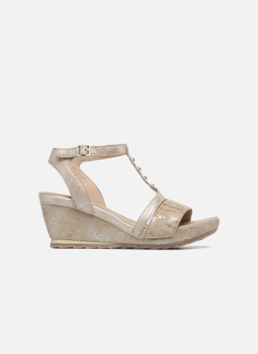 Sandales et nu-pieds Khrio Suasa parker perla Beige vue derrière