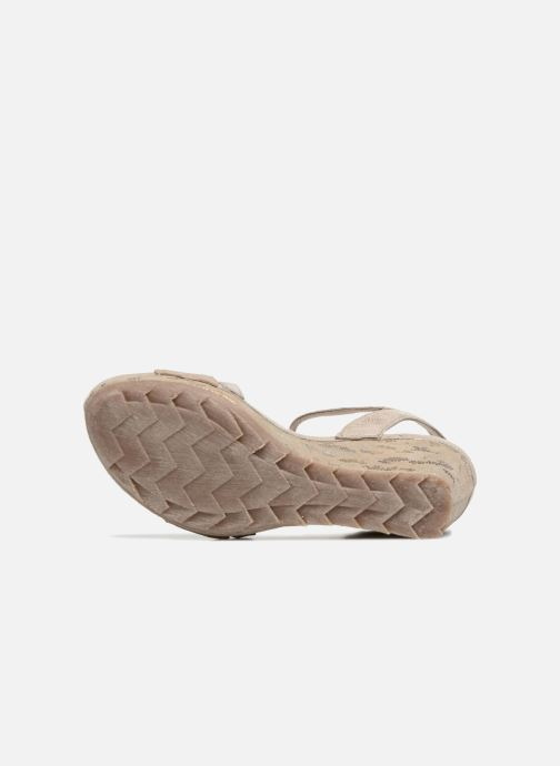 Sandales et nu-pieds Khrio Suasa parker perla Beige vue haut