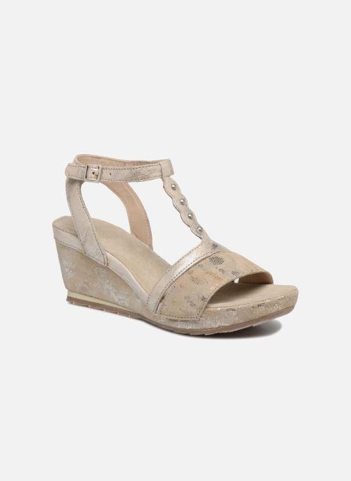 Sandales et nu-pieds Khrio Suasa parker perla Beige vue détail/paire