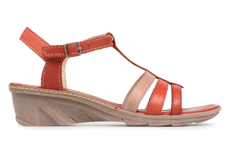 Sandales et nu-pieds Khrio Logaki mohair fire Rouge vue derrière