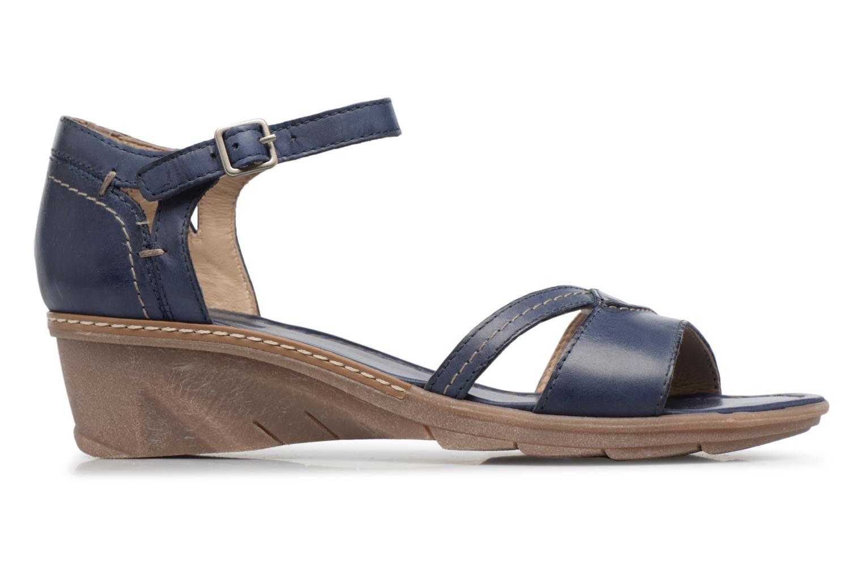 Sandales et nu-pieds Khrio Paorla mohair prussi Bleu vue derrière
