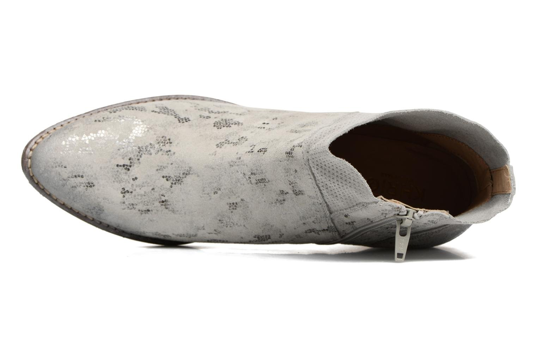 Bottines et boots Khrio Boceko / vegas perla Gris vue gauche