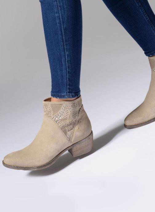 Bottines et boots Khrio Caloda / saio sand Beige vue bas / vue portée sac