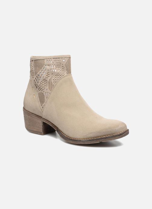 Bottines et boots Khrio Caloda / saio sand Beige vue détail/paire