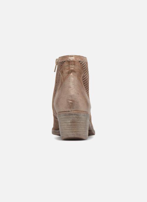 Bottines et boots Khrio Sinuko saio ebano Marron vue droite