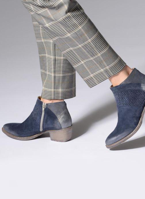 Bottines et boots Khrio Taloha saio prussia Bleu vue bas / vue portée sac