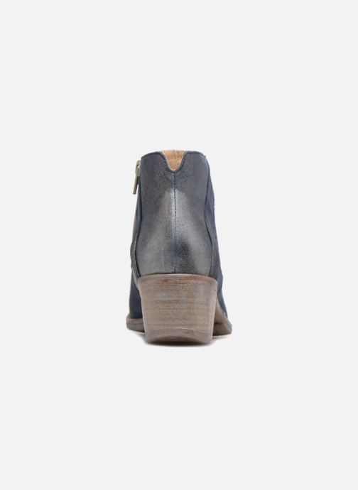 Bottines et boots Khrio Taloha saio prussia Bleu vue droite