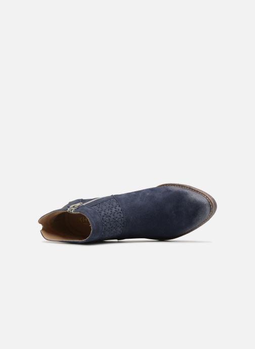 Bottines et boots Khrio Taloha saio prussia Bleu vue gauche