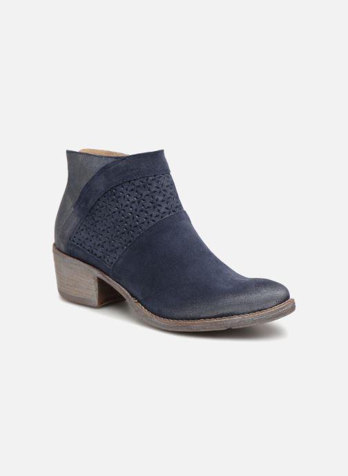 Bottines et boots Khrio Taloha saio prussia Bleu vue détail/paire