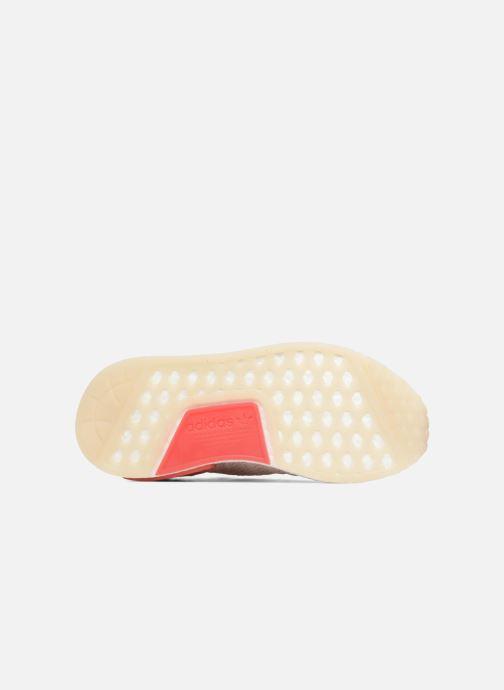 Baskets adidas originals Nmd_R1 Stlt Pk W Rose vue haut