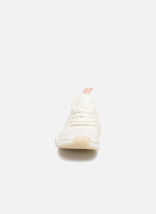 Baskets adidas originals Nmd_R1 Stlt Pk W Blanc vue portées chaussures