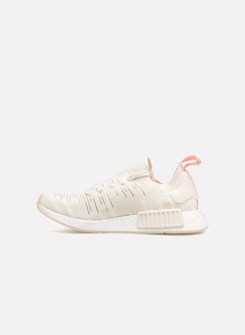 Baskets adidas originals Nmd_R1 Stlt Pk W Blanc vue face