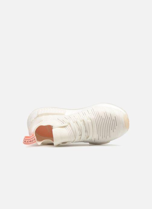 Baskets adidas originals Nmd_R1 Stlt Pk W Blanc vue gauche