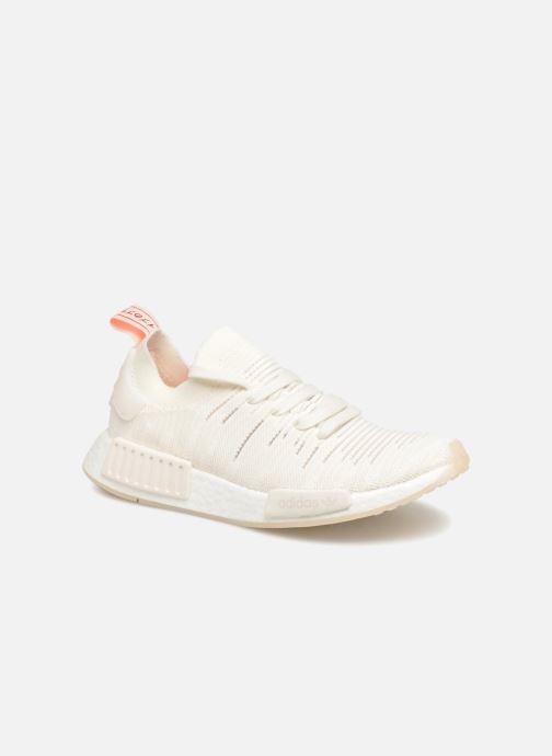 Sneakers adidas originals Nmd_R1 Stlt Pk W Hvid detaljeret billede af skoene