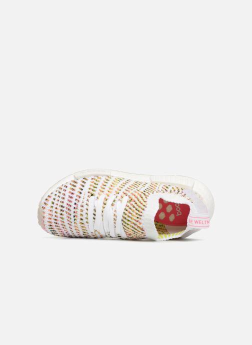 Sneakers adidas originals Nmd_R1 Stlt Pk W Bianco immagine sinistra