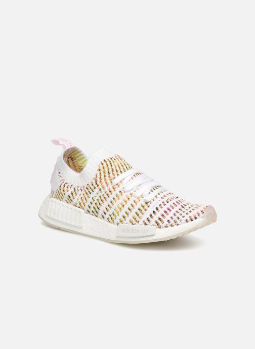best sneakers 35d4b a5152 Baskets Adidas Originals NmdR1 Stlt Pk W Blanc vue détailpaire