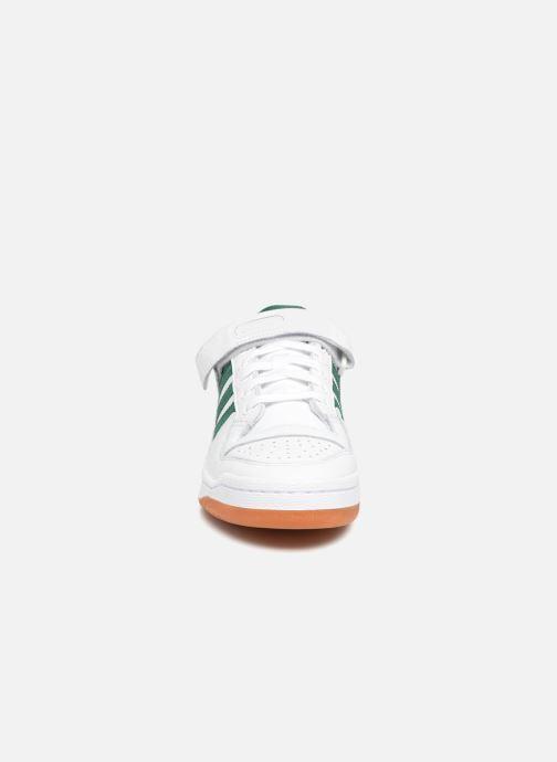 best authentic cd655 3b782 Baskets adidas originals Forum Lo Blanc vue portées chaussures