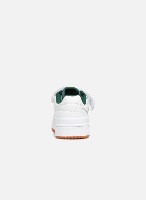new style eaff4 289bd Baskets adidas originals Forum Lo Blanc vue droite