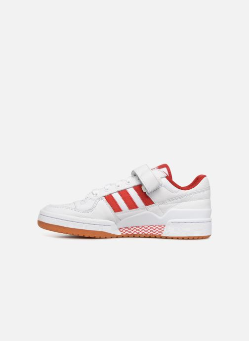 Baskets adidas originals Forum Lo Blanc vue face