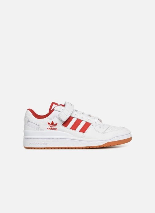 Baskets adidas originals Forum Lo Blanc vue derrière
