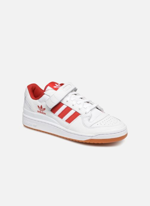 Baskets adidas originals Forum Lo Blanc vue détail/paire