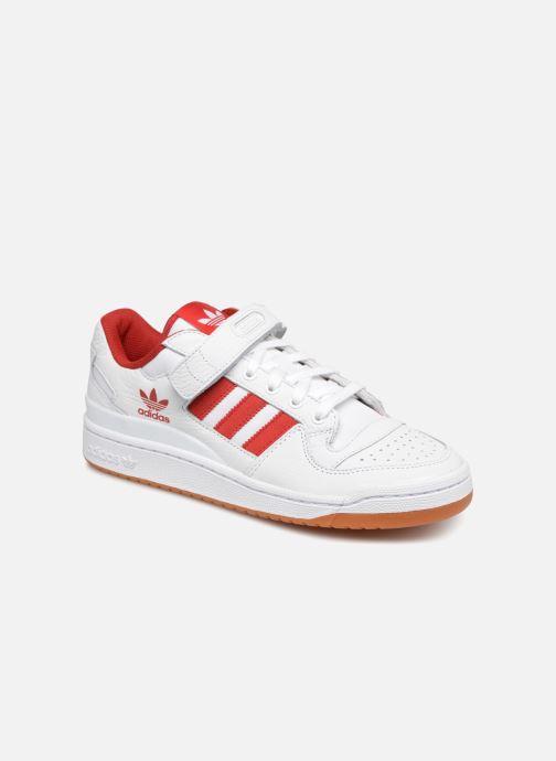 on sale 0787c 5d757 Baskets Adidas Originals Forum Lo Blanc vue détailpaire