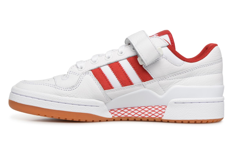 Baskets Adidas Originals Forum Lo Blanc vue face