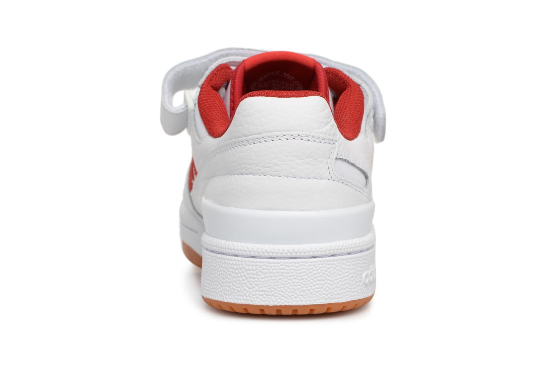 Baskets Adidas Originals Forum Lo Blanc vue droite