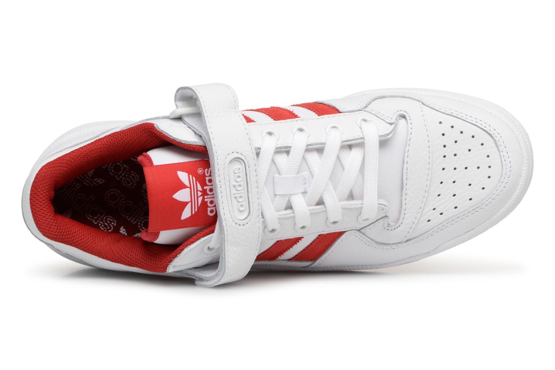 Baskets Adidas Originals Forum Lo Blanc vue gauche
