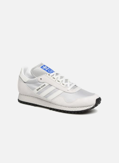 Trainers Adidas Originals New York Grey detailed view/ Pair view